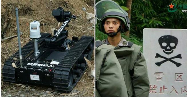 Vor kurzem wurde die 3. Entminungsübung an der chinesisch-vietnamesischen Grenze durchgeführt. Entminungsroboter wurden ebenfalls eingesetzt.