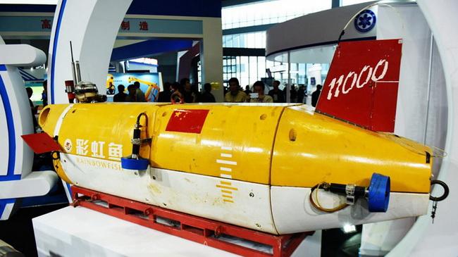 """China präsentiert unbemanntes Tiefsee-U-Boot """"Rainbow Fish"""""""