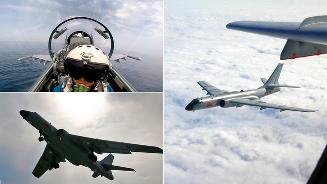 China bestätigt Luftwaffen-Drill im Westpazifik