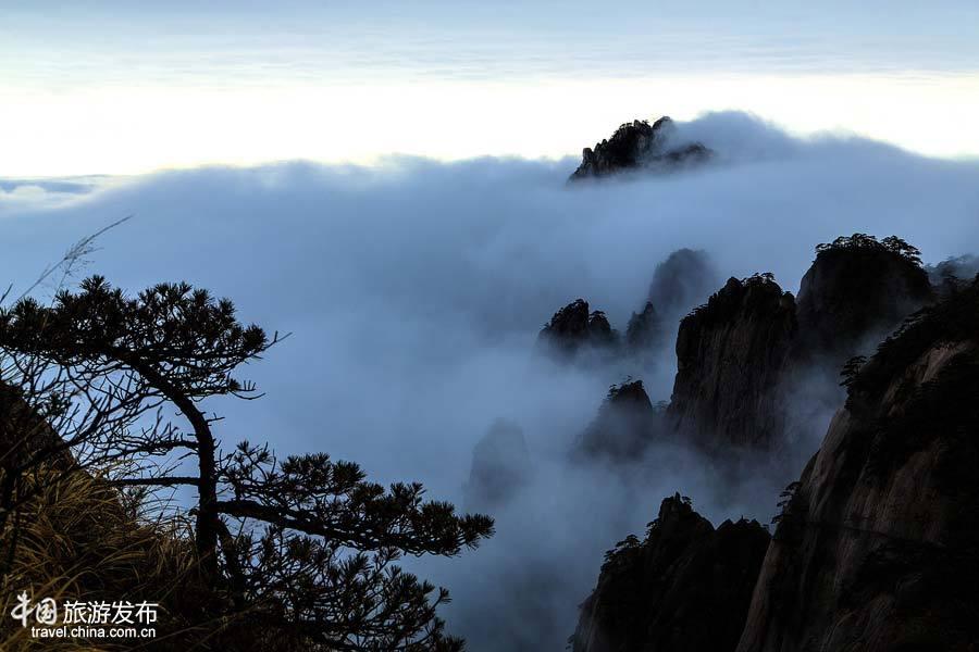 Wolkenmeer beim Huangshan-Gebirge in Anhui_China.org.cn