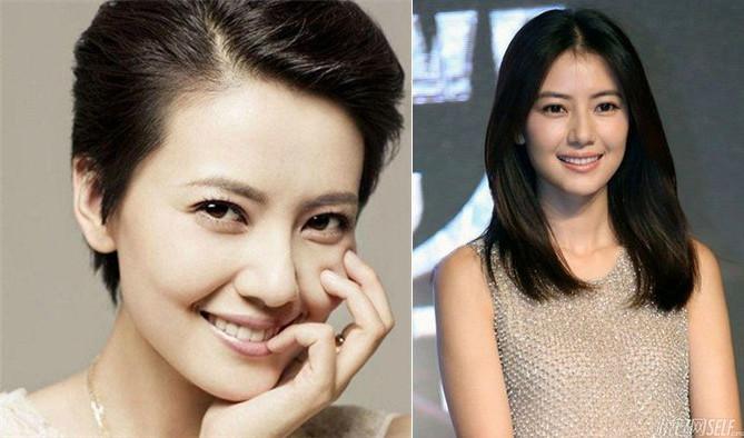 Chinas Schönste Weibliche Stars Mit Kurzen Haarenchinaorgcn