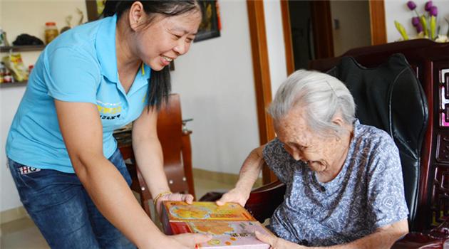 Beijing plant Zuschüsse für häusliche Altenbetreuung