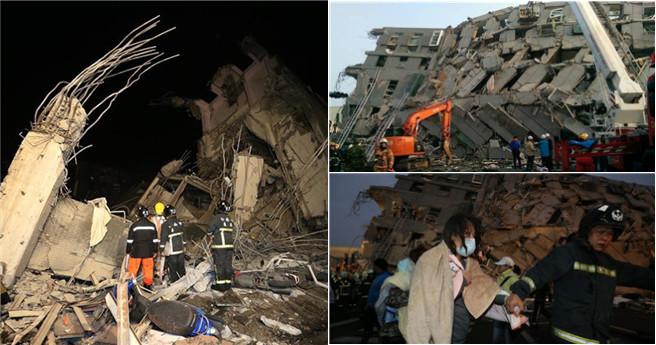 Erdbeben der Stärke 6,7 in Taiwan