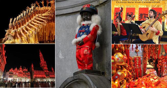 Chinesisches Neujahr wird auch im Ausland gefeiert