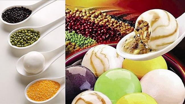 Probieren Sie etwas andere Yuanxiao oder Tangyuan zum Laternenfest