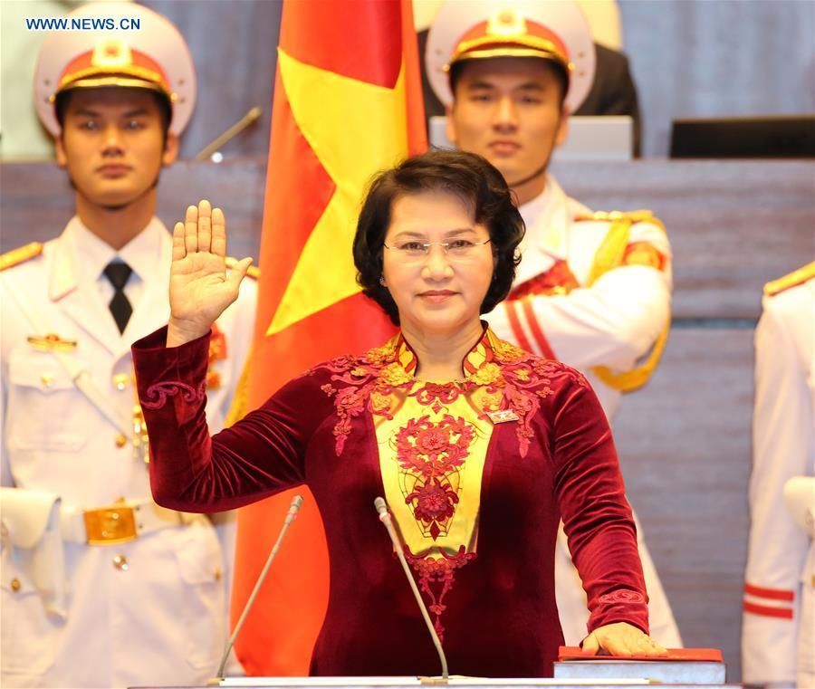 Vietnams Parlament wählt erste weibliche Sprecherin