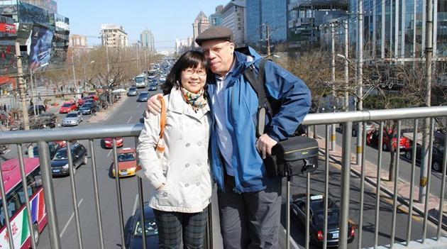 Das glückliche Leben eines alten Kubaners mit seiner chinesischen Frau