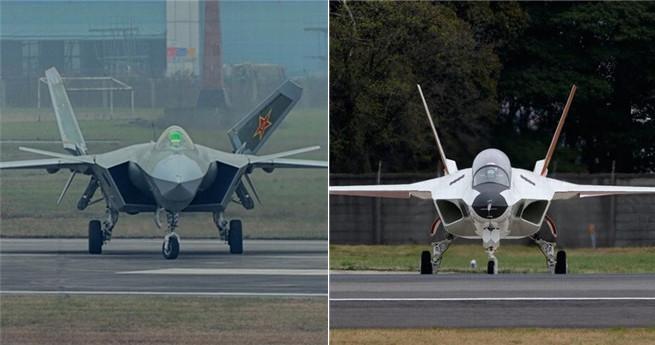 Chinas J-20 vs. Japans X-2