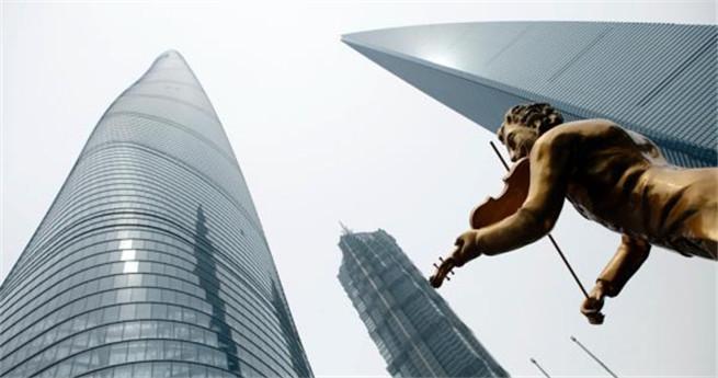 Untergeschoss und Nebengebäude von Chinas höchstem Gebäude eröffnet