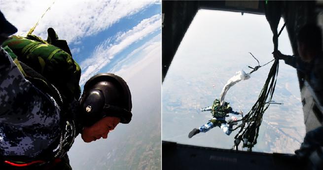 Die chinesischen Fallschirmjägerinnen