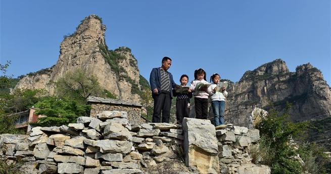 Lehrer bewahrt kleine Schule im Taihang-Gebirge