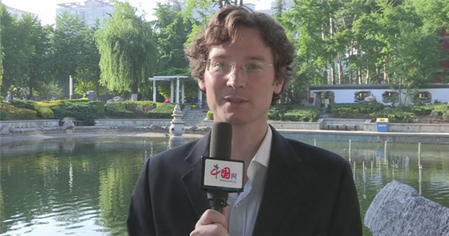 Der amerikanische Student Jesse: Beijing ist ein Ort mit dem Geist der Existenzgründer