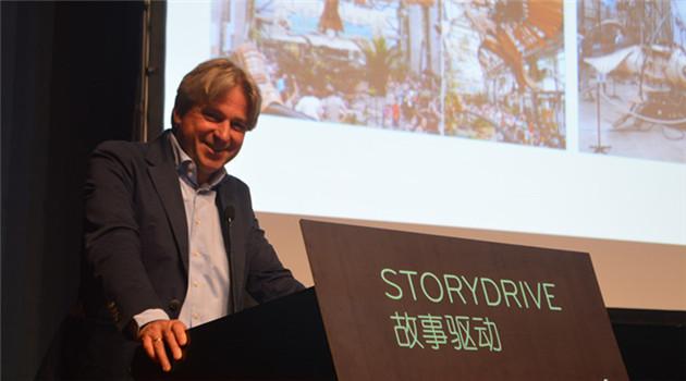 """Jürgen Boos: """"StoryDrive"""" baut eine digitale Seidenstraße für Kulturaustausch auf"""
