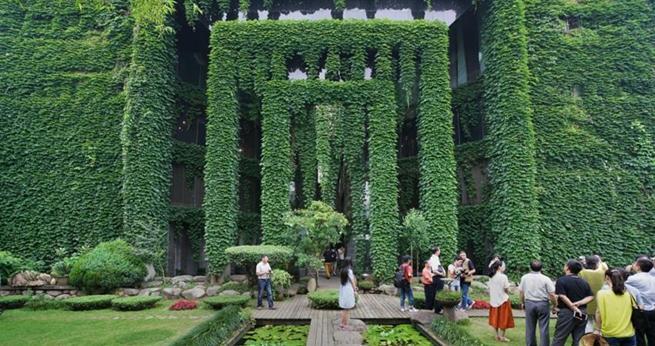 Wenzhou: Geb?ude sieht wie ein M?rchenland aus
