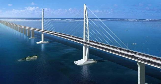 Design sketch of the bridge/