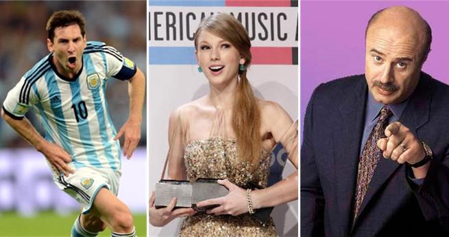 Top 10 der weltweit bestbezahlten Entertainer 2016