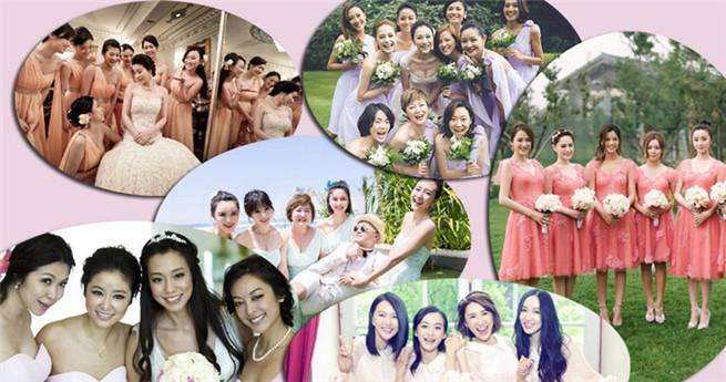 Wer sind die schönsten Brautjungfern