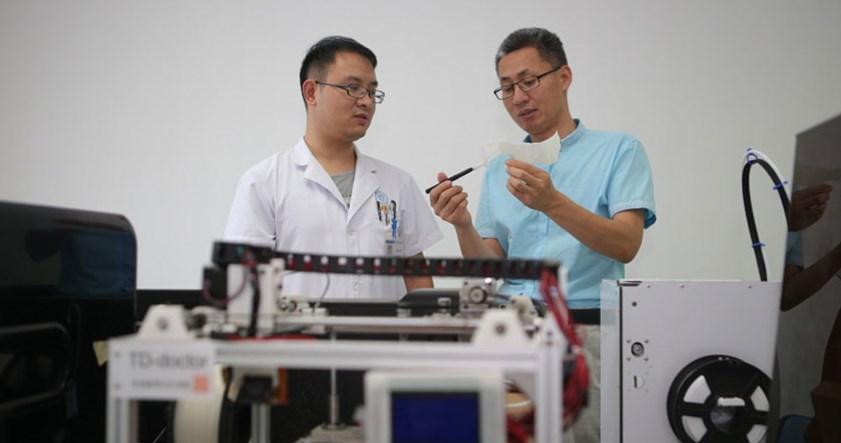 Gehirn-OP mittels 3D-Druck-Technologie