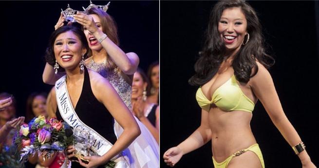 """Chinesische Amerikanerin zur """"Miss Michigan"""" gekrönt – doch Chinesen haben anderen Schönheitsstandard"""