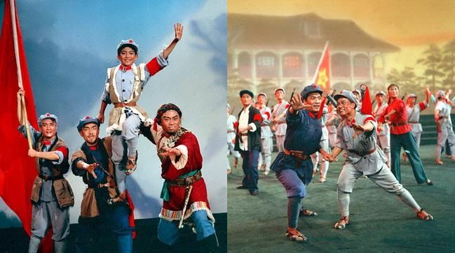 """Gedenken zum """"Langen Marsch"""": Bilder von Aufführungen in der Mao-Zeit"""