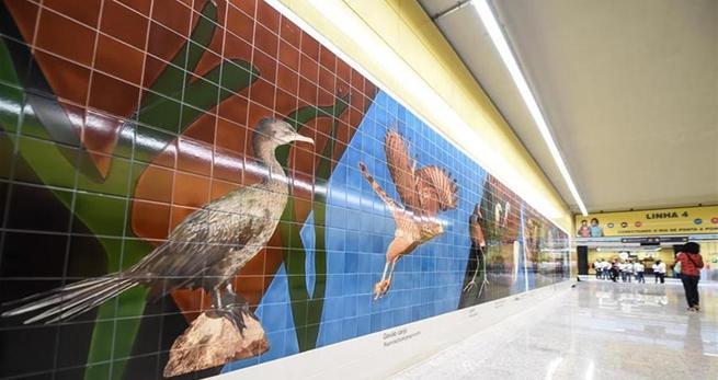 Rios olympische U-Bahnlinie benutzt chinesische Züge