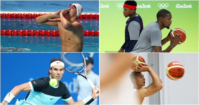 Die besten Sportler trainieren für Rio 2016