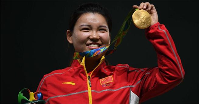 Rio 2016: Schützin Zhang Mengxue holt erstes Gold für China