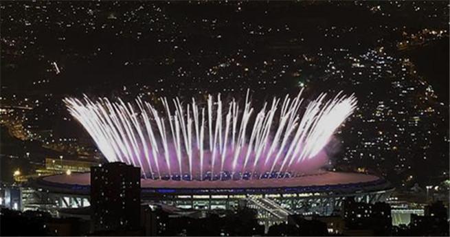 Rio 2016: Wunderbares Feuerwerk bei der Eröffnungszeremonie