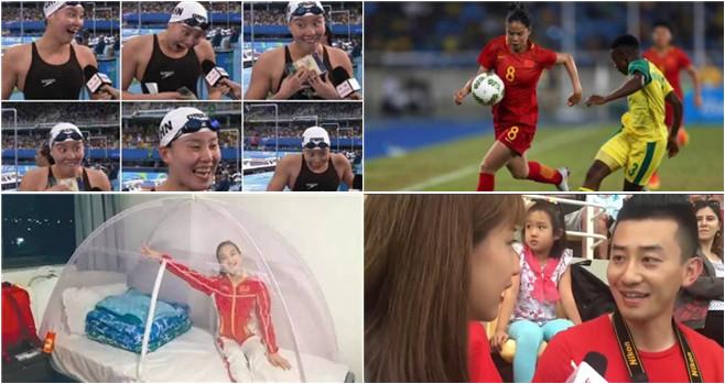 Chinesen sorgen in Rio für Wirbel – nicht nur wegen Medaillen