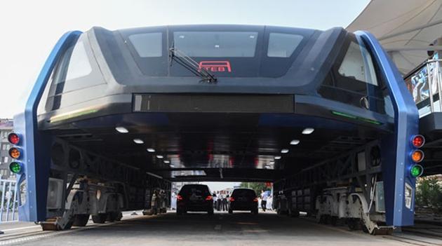 Teststrecke für 'Stelzenbus' soll angeblich abgerissen werden