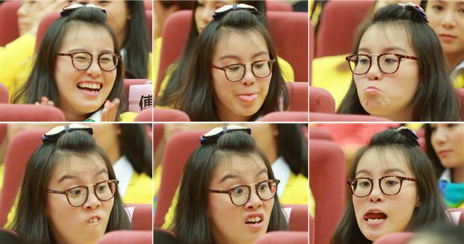 Mit lustigen Gesichtsausdrücken zieht Fu Yuanhui wieder viel Aufmerksamkeit an