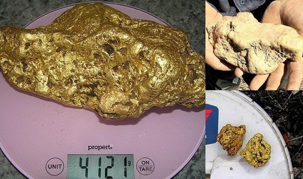 Australier findet vier Kilo schweres Gold-Nugget