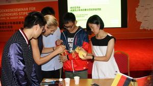 Chinesische Stipendiaten aus Deutschland zurück