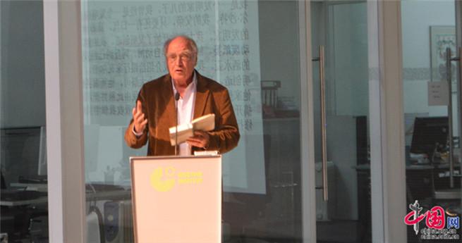 """Lesung in Beijing: Martin Walser stellt sein neues Buch """"Ein Sterbender Mann"""" vor"""