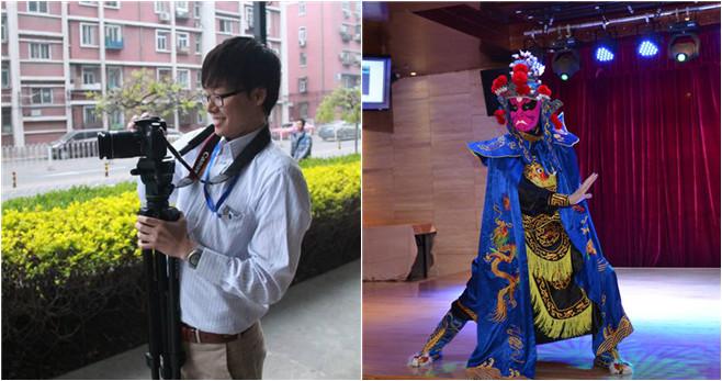 Der wundersame japanische Kerl mit den wechselnden Gesichtern