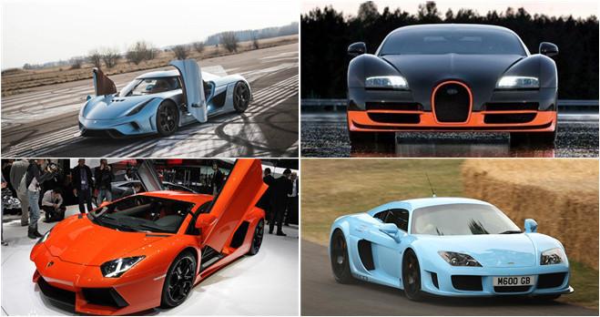 Die zehn schnellsten autos der welt for Die schnellsten autos