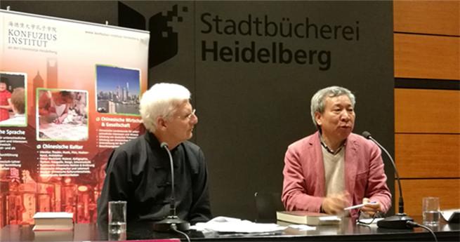 Konfuzius Institut an der Universität Heidelberg veranstaltete die Lesung des Werkes von Yan Lianke