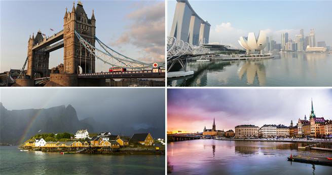 Einfach Geschäfte machen: Top 10 Regionen weltweit für Geschäftsleute