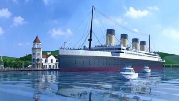 Lebensgroßer Titanic-Nachbau soll Besucher anziehen