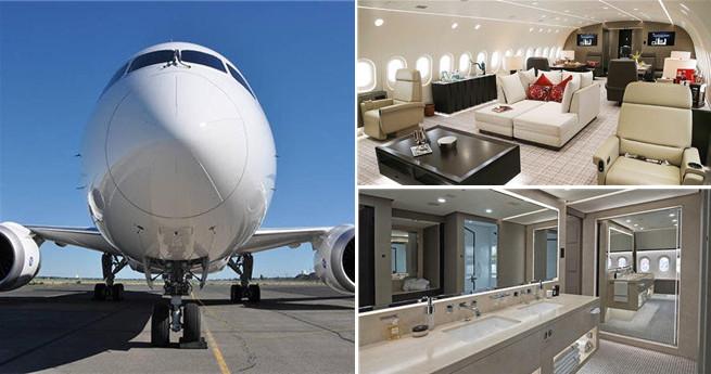 """Wie sieht """"das luxuriöseste Flugzeug"""" der Welt aus?"""