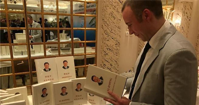 Globale Buchmesse mit dem Thema China in Genf eröffnet
