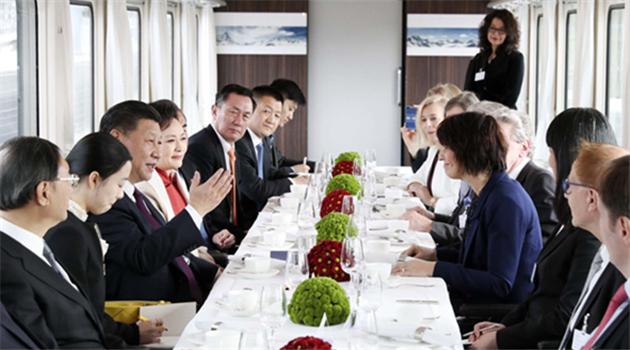 "Xi bejubelt die ""exemplarische"" China-Schweiz-Partnerschaft"
