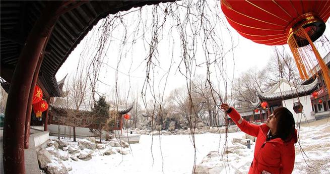 Häufige Schneefälle kurbeln Wintertourismus in Zhangjiakouan