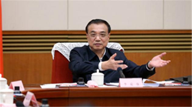 Li Keqiang spricht über reale und virtuelle Wirtschaft