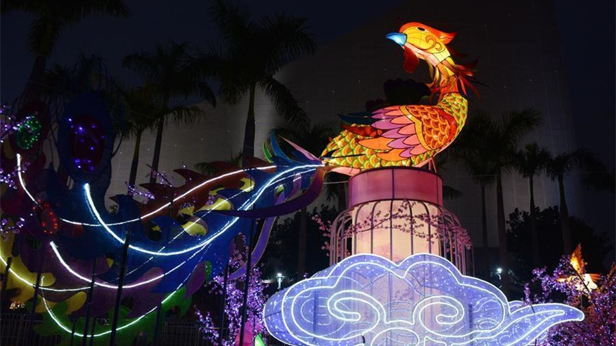 Jährliche Laternenausstellung wird in Hongkong eröffnet