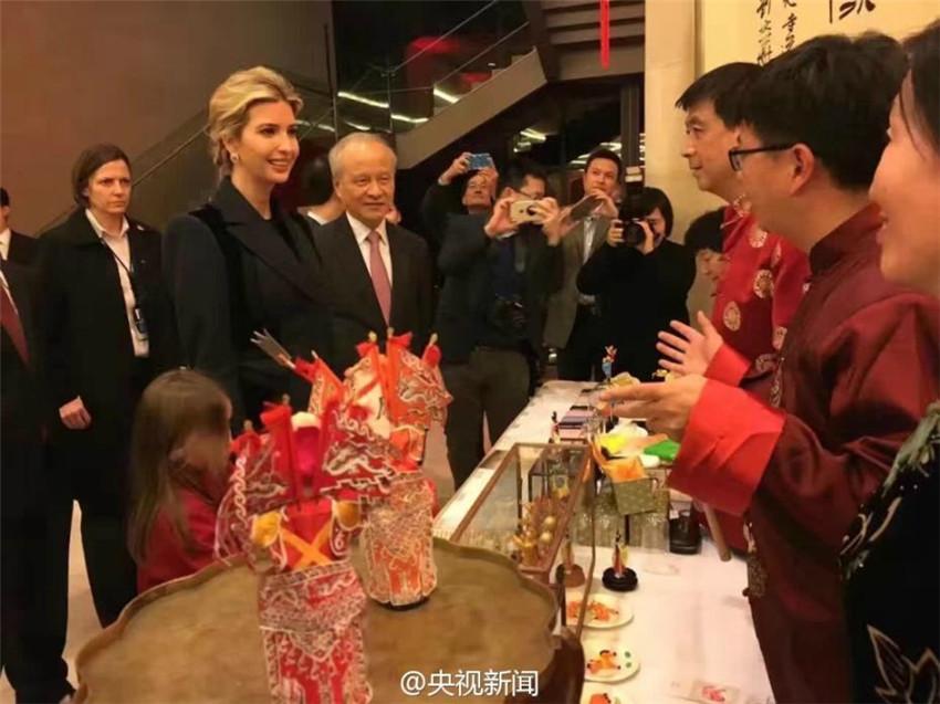 Ivanka Trump besucht chinesische Botschaft zum Frühlingsfest_China ...