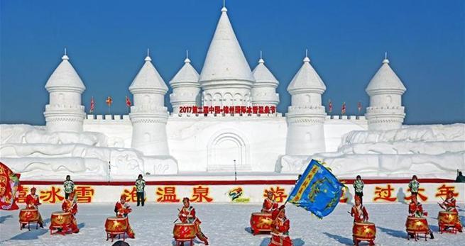 In China boomen Schnee- und Eistourismus