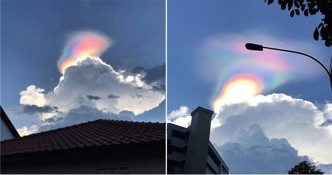 """""""UFO-Alarm"""": Lichterscheinung über Singapur gesichtet"""