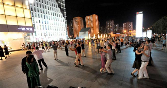 Störung der öffentlichen Ordnung: Beijings Squaredancer könnte Strafe drohen