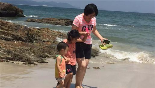 Xiao Hua, zweifache Mutter: Das Glücksgefühl spült alle Sorgen fort